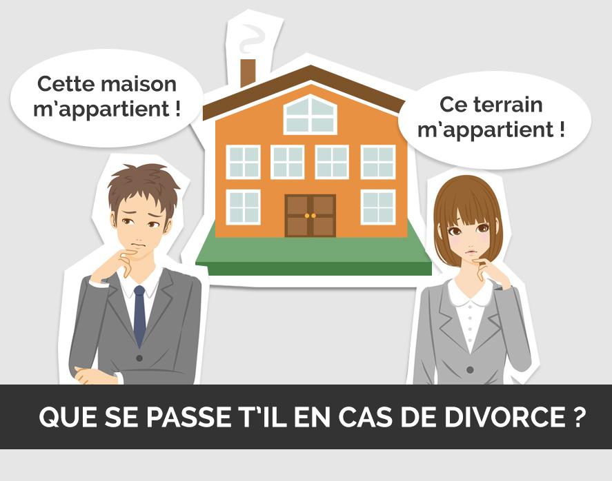 que ce passe t'il en cas de divorce?